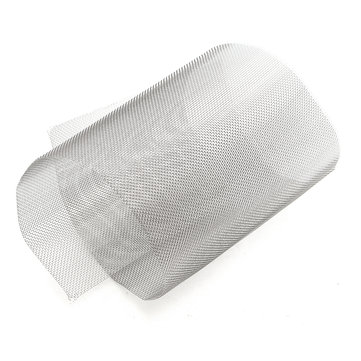 15x45cm 304 Stainless Steel Woven Wire Filter Screen Sheet Filtration Cloth 20 Mesh