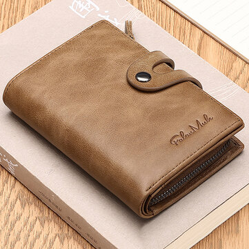 Men's Wallet Genuine Leather Credit Card Holder