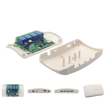 Geekcreit® ABS Case For Geekcreit DIY 4 channel Relay Jog Wifi Wireless Smart Home Switch