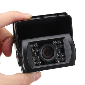 Waterproof Shockproof Car Rear View Reversing HD Infrared Lights Night Vision Camera With AV Cable