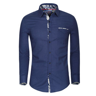 Flax Cotton Linen Spring Autumn Men Washed Long-sleeved Casual Shirt