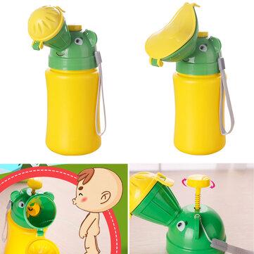 500MLПортативныйдетскийдетскоемочеиспусканиеMini Авто Путешествие Туалет Мальчик-мальчик Малыш Potty Training Модификация