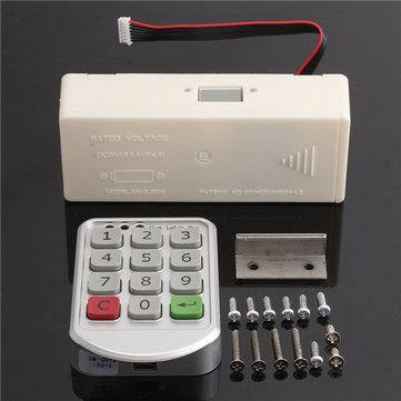 Electronic Intelligent Password Keypad Number Cabinet Door Digital Code Lock
