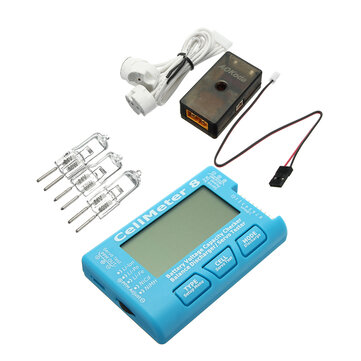 AOKoda CellMeter 8 battery checker with Battery Voltage Balance Servo Checker Tester