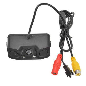 3 in1 Parking Camera Sensors Reversing Radar Car Rear View Camera Reversing Camera Waterproof