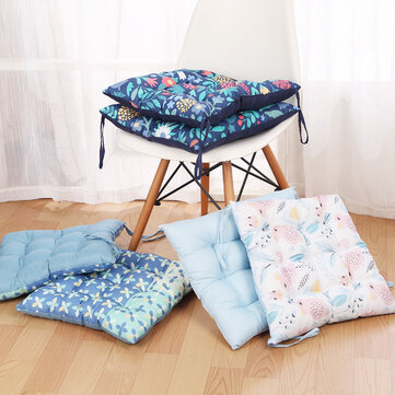 42x42cm Square Thickening Seat Chair Pad Cushion Elegant Cotton Car Mat Home Cusions Home Decor