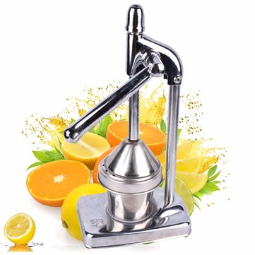 Manual Press Orange Citrus Juicer Juice Extractor Stainless Steel Fruit Processing Tool