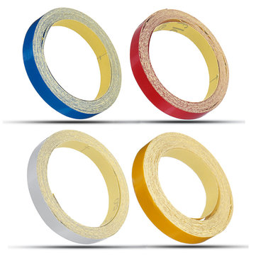 1cm*5m Glossy Motorcycle Helmet Reflective Decorative Safety Tape DIY Sticker Decal Roll Strip