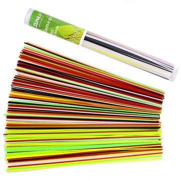 SUNLU® 180pcs 25cm 1.75mm Barreled PLA Filament 6 Colors For 3D Printing Drawing Pen