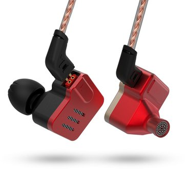 Original KZ BA10 HIFI Earphone 5BA Balanced Armature Driver 3.5mm In-ear Monitor Bass Headphone