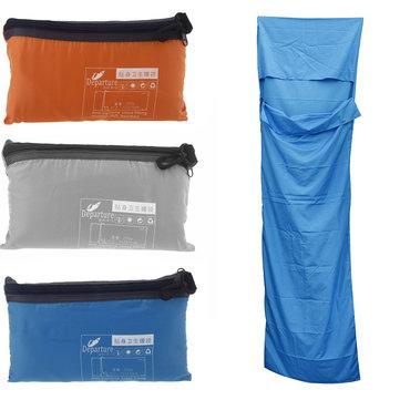 IPRee Сверхлегкий портативный одиночный спящий Сумка Полиэстер Понге Liner Mini Спящий Сумка Для Кемпинг Путешествия