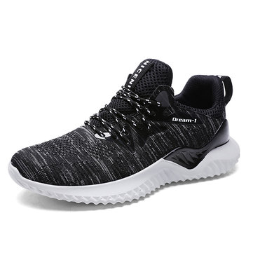 Outdoor Men Sport Breathable Soft Casual Wear Proof Shock Absorbing Hiking Running Shoes Sneakers