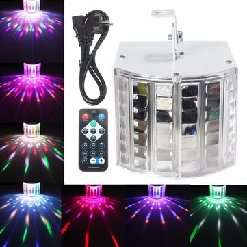 18W LED RGB Sound Actived DMX512 Strobe Effect Stage Lighting DJ Disco Bar Party