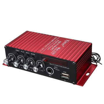 Kinter MA130 bluetooth Microphone Mic Amplifier 12V Car Amplifier With Display With bluetooth