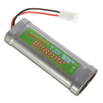7.2V 4300mAH Ni-MH Rechargeable Battery Pack for Toy Vehicle/Boat/AirPlane
