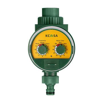 KCASA KC-JK666 Garden Automatic Watering Timer Ball Valve Rainfall Monitoring Induction Timer