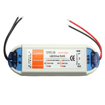 AC-DC-12V 6A Adapter Power Supply Driver Transformer Led Strip Light