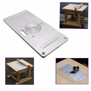 235mm x 120mm x 8mm aluminum router table insert plate for 235mm x 120mm x 8mm aluminum router table insert plate for woodworking greentooth