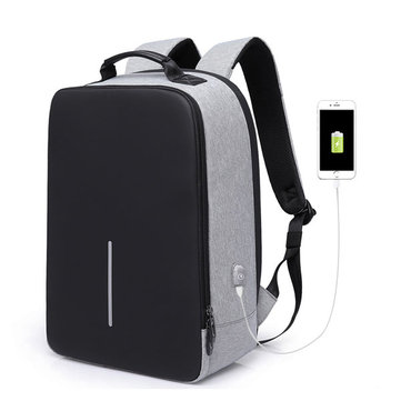 16 inches Laptop Men Leisure Backpack Anti-theft Knapsack