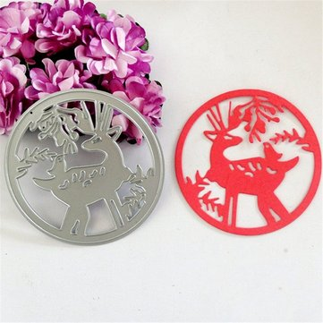 Deer Cutting Dies Diy Stencil Scrapbooking Set Embossing Paper Card Decoration