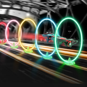 Eachine LED Flash Racing Circle Crossing Through Door Track with Hour Meter Timer for E013 Plus TRASHCAN Mobula7 UR65 FPV Racer Drone