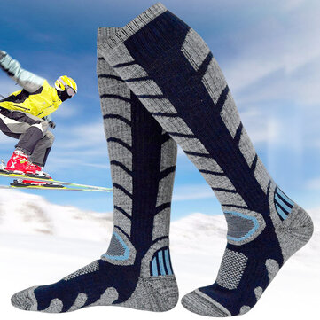 Men Women Sport Skiing Socks Thickening Calf Tube Socks