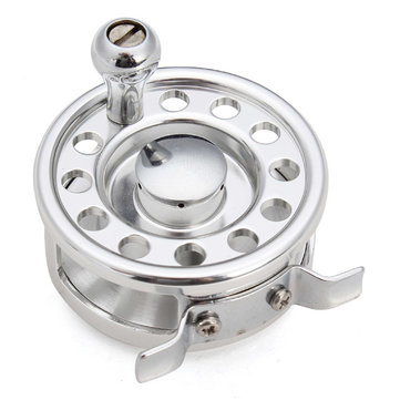 Aluminum Fish Line Raft Wheel Fly Fishing Reel Fish Line Wheel Fishing Tackle