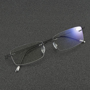 BRAODISON Super Light Presbyopic Reading Glasses Flexible Titanium Frame