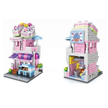 LOZ Street Scene Building Blocks Educational Toys Children Gifts 300Pcs+