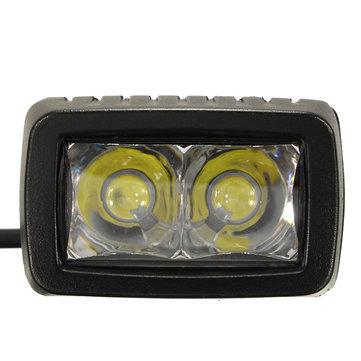 10W 1000LM LED Light Bar Spot Beam Work Light for Jeep ATV 4WD SUV Off Road