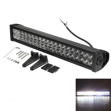 24Inch 120W 12-30V LED Light Lamp Bar Spot Flood Combo Off Road ATV SUV Boat