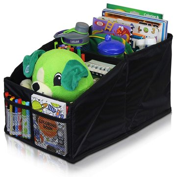 Foldable Car Seat Storage Bag Protable Child Toy Book Sundries Organizer Holder Box