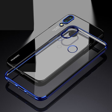 Bakeey™ Electroplate Transparent Hard PC Back Cover Protective Case for Huawei P20 Lite Nova 3e
