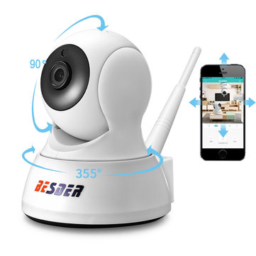 ₹1,761 51 BESDER HD 1080P 720P WIFI Security IP Camera Two Way Audio  Wireless Night Vision CCTV Camera Baby Monitor Security & Protection from