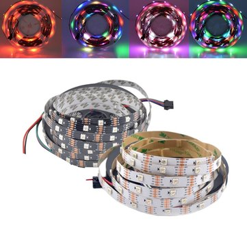 1M 5M WS2813 RGB Dream Color Non-waterproof LED Pixel Strip Light for Holiday Party Decor DC5V