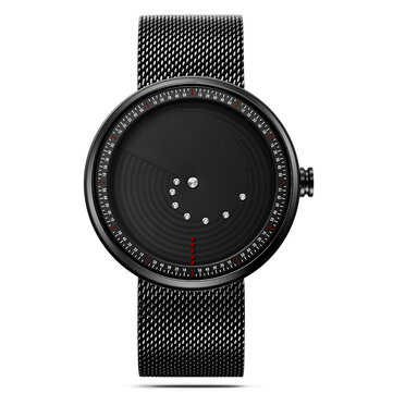SINOBI 9768 Ultrathin Space-time Quartz Creative Watches