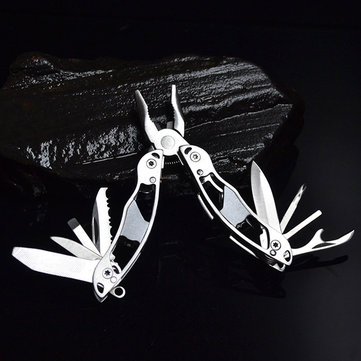 Butterfly Shape Mini Multifunction Pliers Portable Folding Tool Outdoor Equipment Knife Keychain