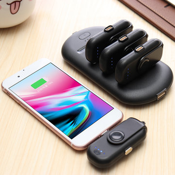 Finger Pow Portable Mini Power Bank Charger For iPhone/Android/Type-C Phones Charging Treasure