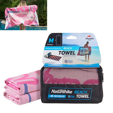 Naturehike NH17Y050-M Outdoor Microfiber Beach Towel Quick Drying Soft Lint Eco-friendly Sport Scarf