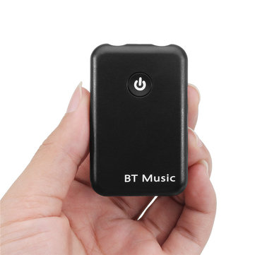 2 In 1 Portable Wireless Bluetooth Stereo 3.5mm Audio Transmitter Receiver Adapter For TV DVD MP3 PC