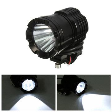 U3 30W 1200LM LED Headlight Spot Lightt Fog Light for Off Road Car Motorcycle SUV ATV Boat