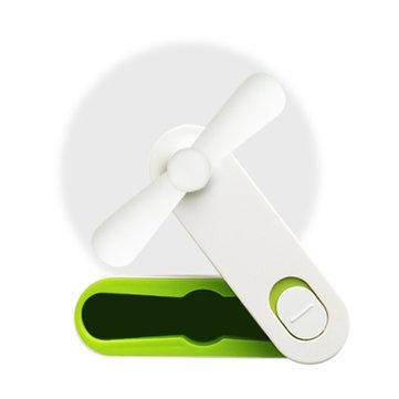 Creative Rechargeable Foldable Portable Ultra Silent Mini Handheld Desktop Travel Silicone USB Fan