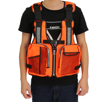 Universal Adult Adjustable Life Jacket Canoeing Sailing Buoyancy Fishing Vest