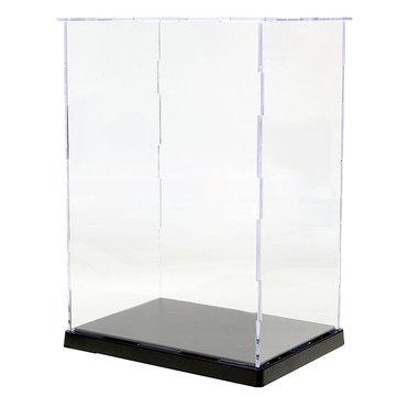 19x14x26.5cm Clear Acrylic Display Show Case Box Plateau anti-poussière en plastique