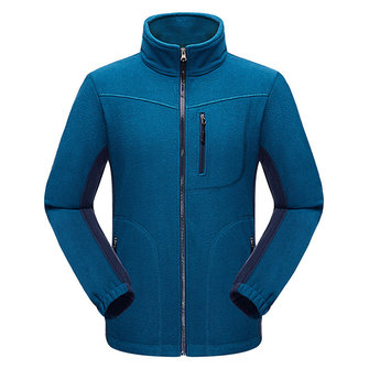 Mens Outdoor Sports Leisure Fleece Stand Collar Casual Jacket Big Size Climbing Spring Coat