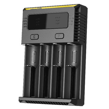 Nitecore NEW I4 Intelligent Smart Li-ion/IMR/LiFePO4 Battery Battery Charger For Almost all Battery Types