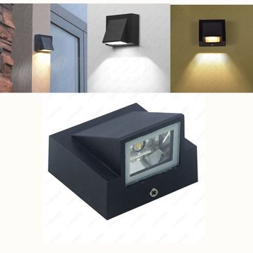 3W Warm White/White Waterproof Outdoor LED Wall Light for Gate Balcony Garden Yard AC85-265V