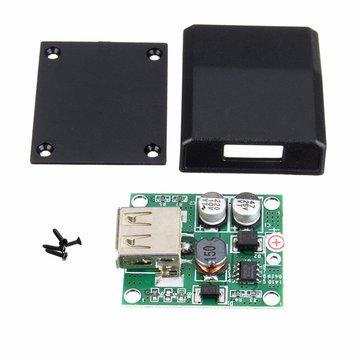 DIY 5V 2A Voltage Regulator Junction Box Solar Panel Charger Special Kit For Electronic Production