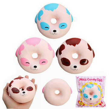 Eric Squishy Puppy Dog Donut Miss Candy Egg Soft Slow Risnig With Packaging Collection Gift Toy