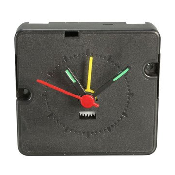 DIY Mini Quartz Alarm Clock Movement Mechanism With Hands